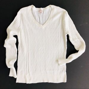 Merona light weight cable sweater